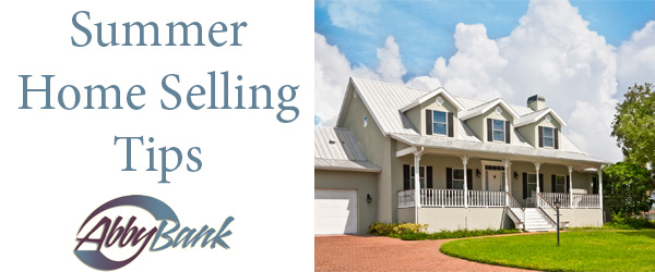 Put yourself in the best position with these tips to sell your home during the summer.